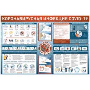 """Информационный стенд-уголок """"Коронавирусная инфекция COVID-19"""""""