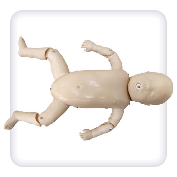 Тренажер-манекен ребенка для отработки навыков проведения сердечно-легочной реанимации