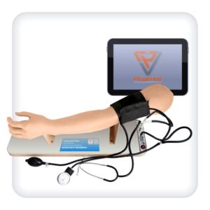 Тренажер для отработки навыков измерения артериального давления