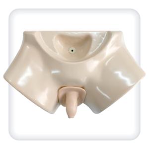 Тренажер мужской промежности для катетеризации мочевого пузыря