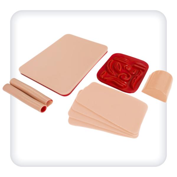 Комплект расходных материалов к тренажеру базовых хирургических навыков наложения швов и завязывания узлов (М1023)