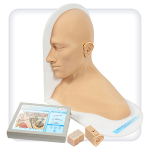 Тренажер для отработки навыков осмотра и промывания уха
