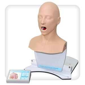 для отработки навыков обследования носоглотки
