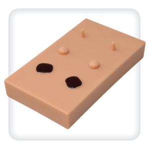 Модель для отработки навыков удаления кожных образований