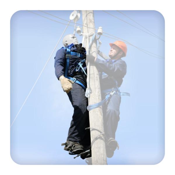 Тренажер-манекен для отработки навыков проведения спасательных работ на высоте