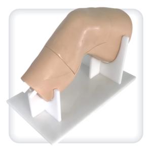 Модель коленного сустава для отработки навыков аспирации жидкости и инъекций под контролем ультразвука